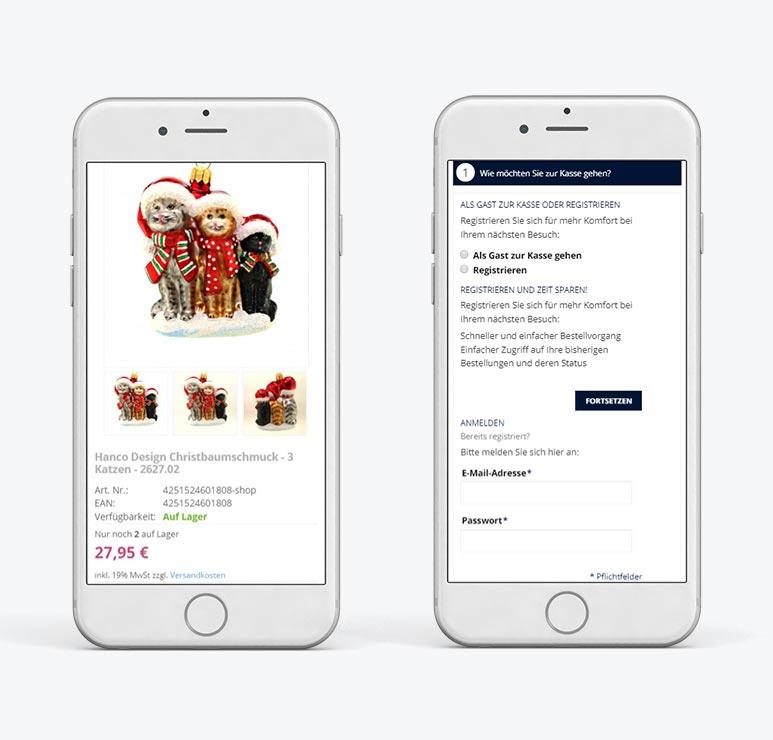 изработка на онлайн магазин с responsive дизайн