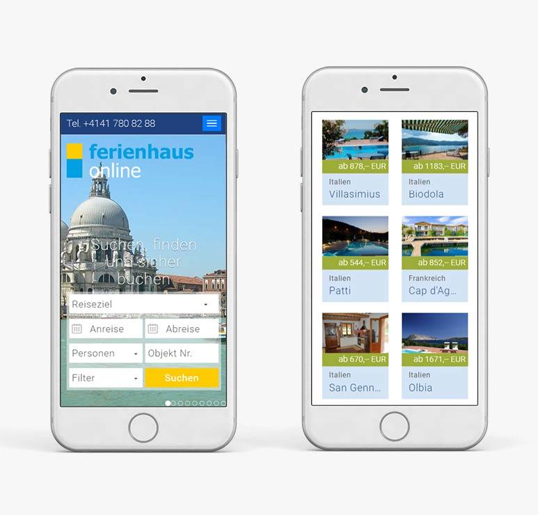 изработка на уеб сайт за резервации с мобилна версия