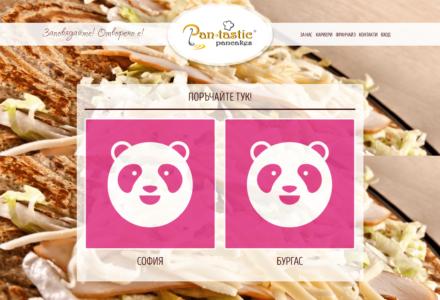 Изработка на уеб сайт за Pantastic